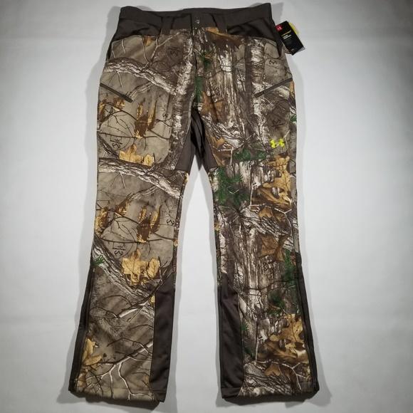 4f8bb8a7c5a44 Under Armour Pants | Men Stealth Fleece Hunting Pant 36 32 | Poshmark
